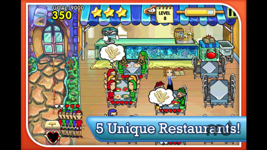 Diner Dash for Mac - review, screenshots