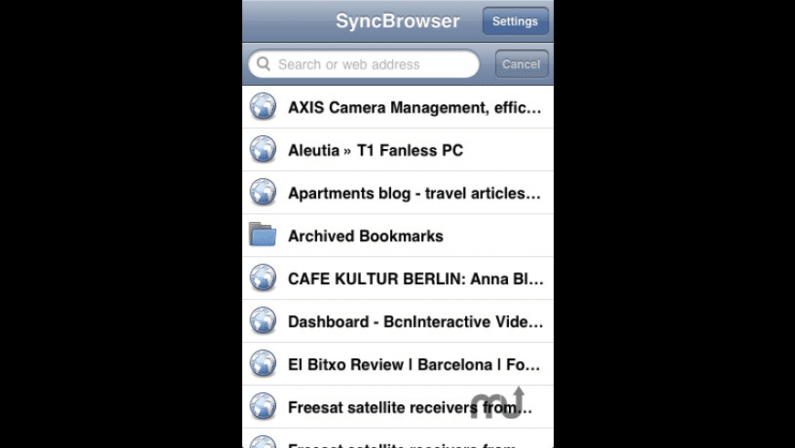 Sync Browser - Firefox Bookmark Sync for Mac - review, screenshots