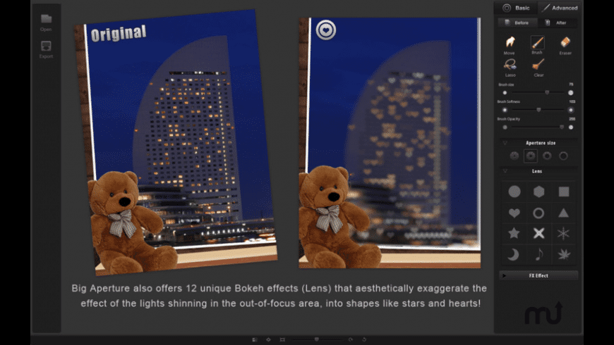 Big Aperture for Mac - review, screenshots