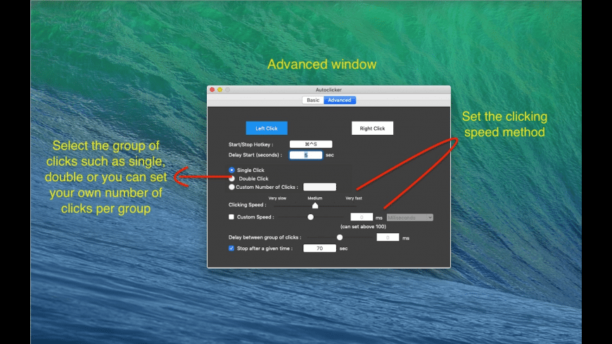 iAutoclicker for Mac - review, screenshots