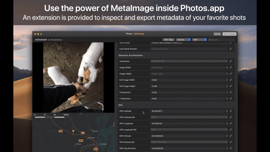 MetaImage for Mac - review, screenshots