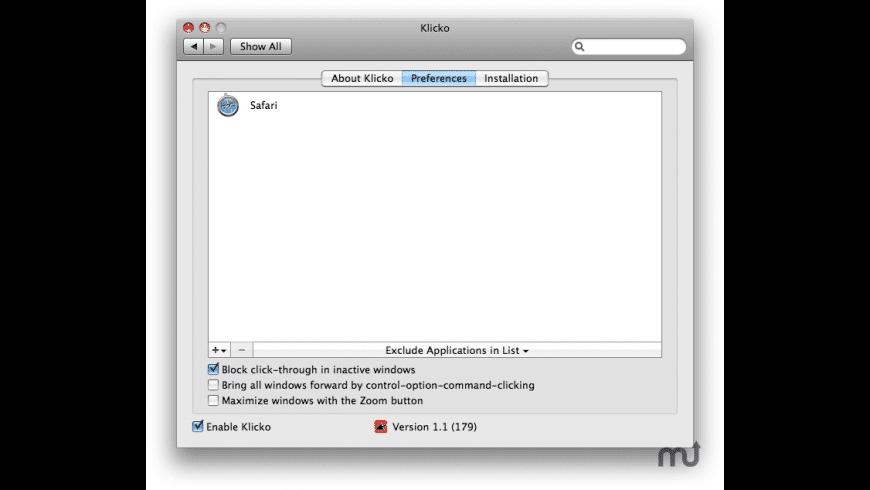 Klicko for Mac - review, screenshots