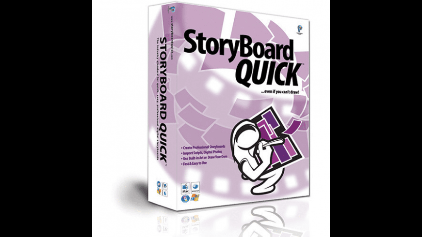 StoryBoard Quick for Mac - review, screenshots