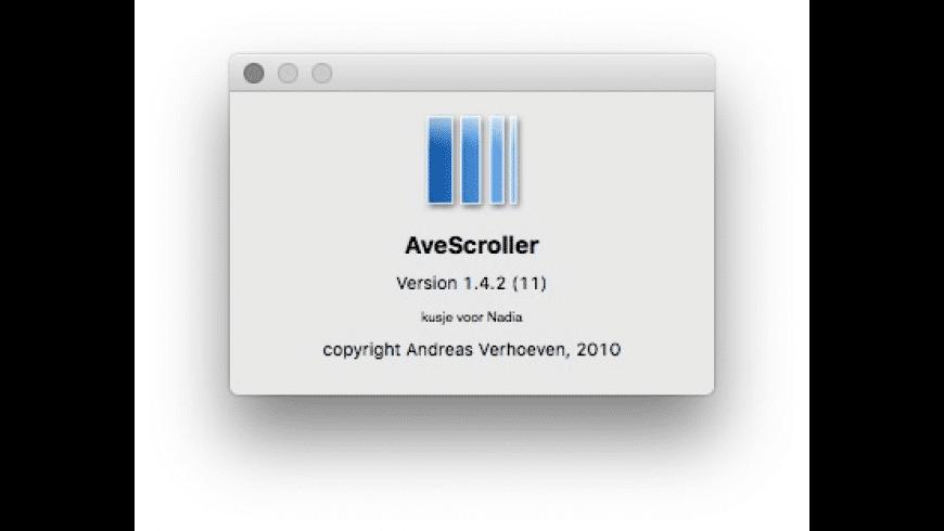 AveScroller for Mac - review, screenshots