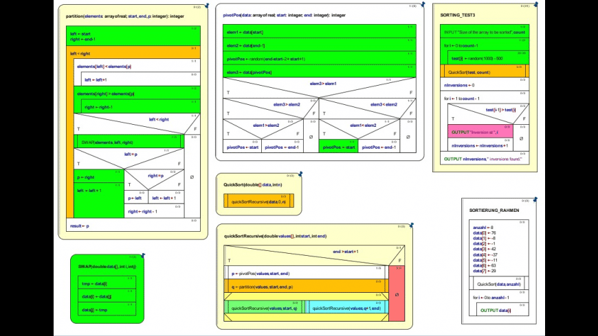 Structorizer for Mac - review, screenshots