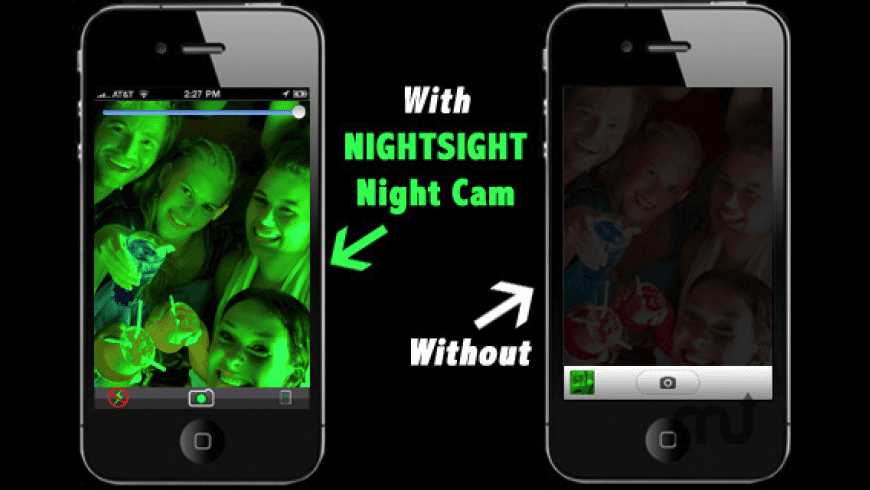 Nightsight Night Cam Free for Mac - review, screenshots