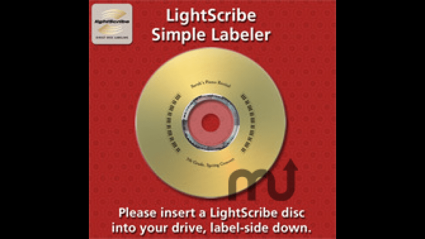LightScribe Simple Labeler for Mac - review, screenshots
