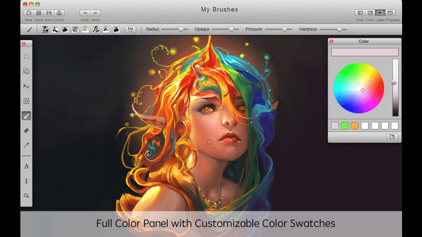 MyBrushes for Mac - review, screenshots