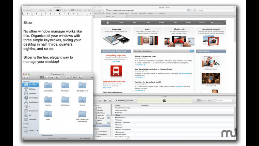 Slicer for Mac - review, screenshots
