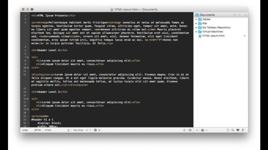 Original TextMate Software