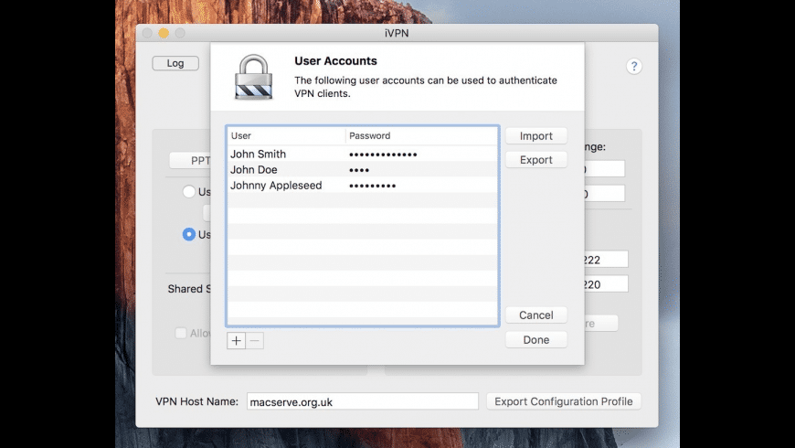 iVPN for Mac - review, screenshots