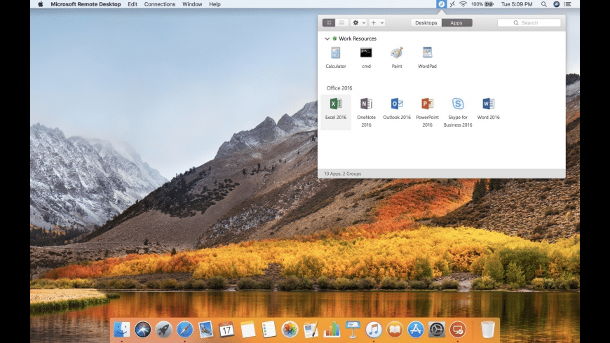 Microsoft Remote Desktop for Mac - review, screenshots