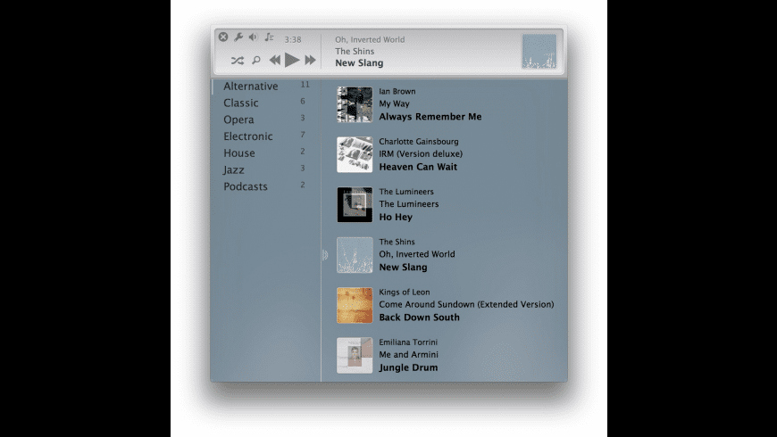 FolderPlayer for Mac - review, screenshots