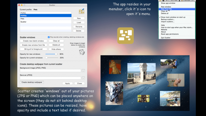 Scatter for Mac - review, screenshots