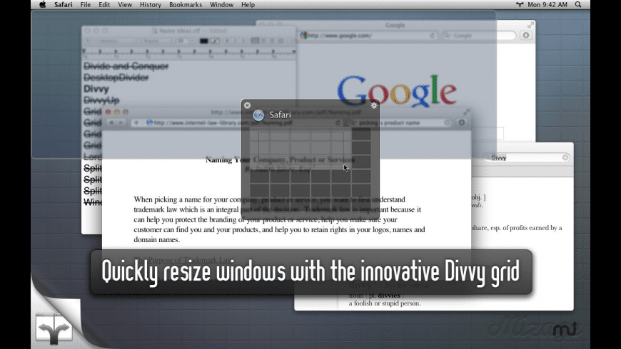 Divvy for Mac - review, screenshots