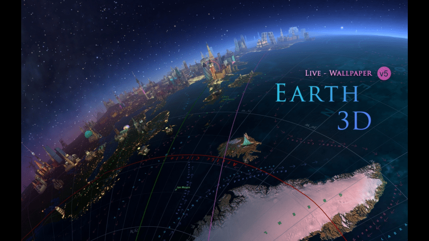 Earth 3D for Mac - review, screenshots