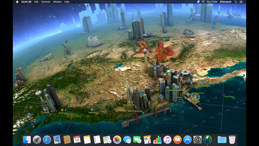 Earth 3D for Mac - review, screenshots