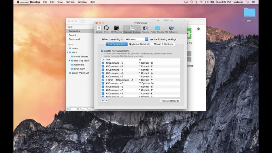 Jump Desktop for Mac - review, screenshots