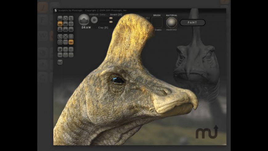 Sculptris for Mac - review, screenshots