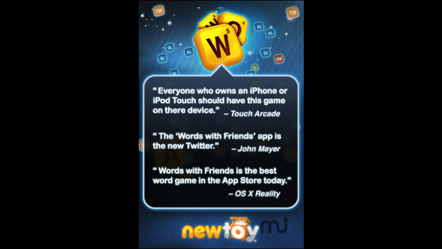 Words With Friends Free for Mac - review, screenshots