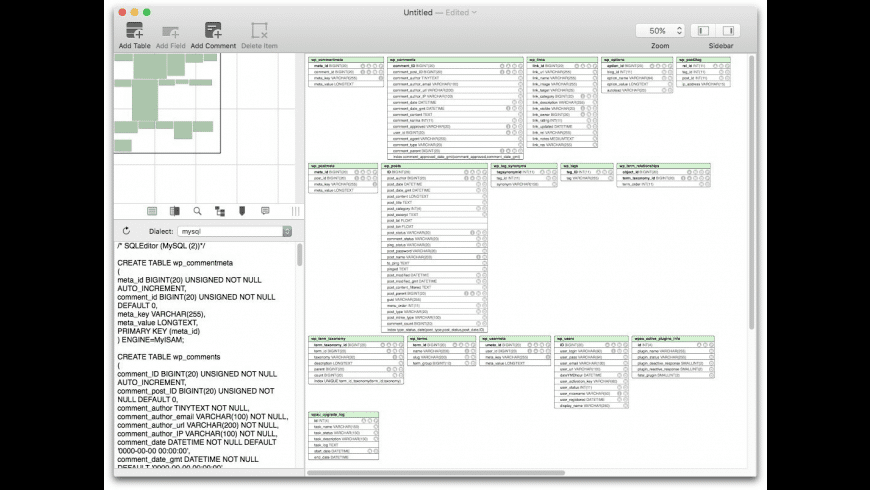 SQLEditor for Mac - review, screenshots