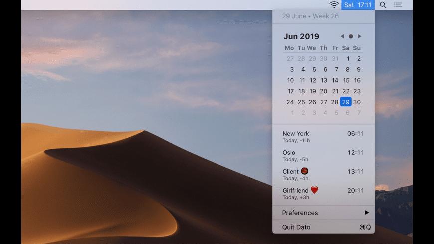 Dato for Mac - review, screenshots