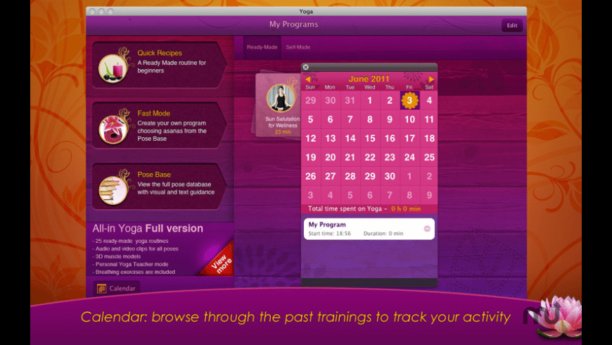 Yoga for Mac - review, screenshots