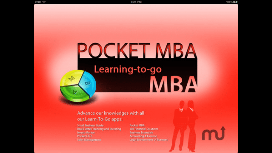 Pocket MBA - course for Mac - review, screenshots
