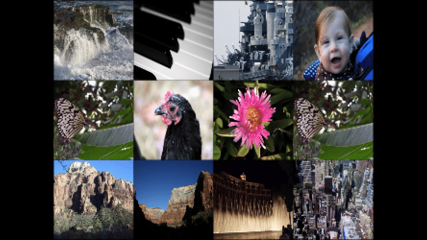 iPhoto gridSaver for Mac - review, screenshots