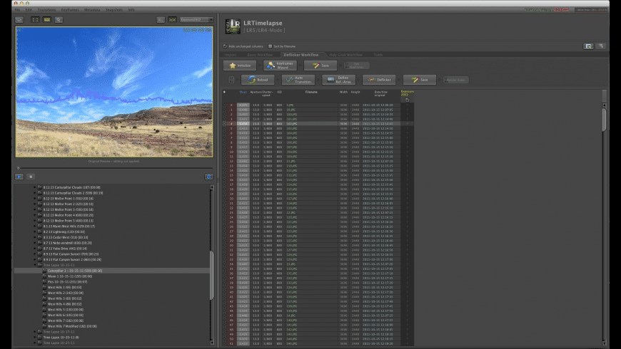 LRTimelapse for Mac - review, screenshots