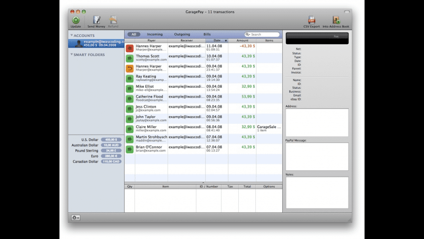 GaragePay for Mac - review, screenshots