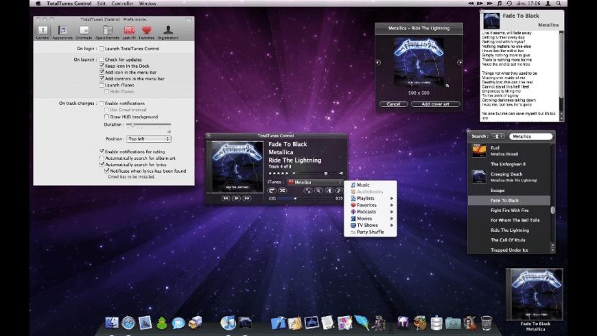 TotalTunes Control for Mac - review, screenshots