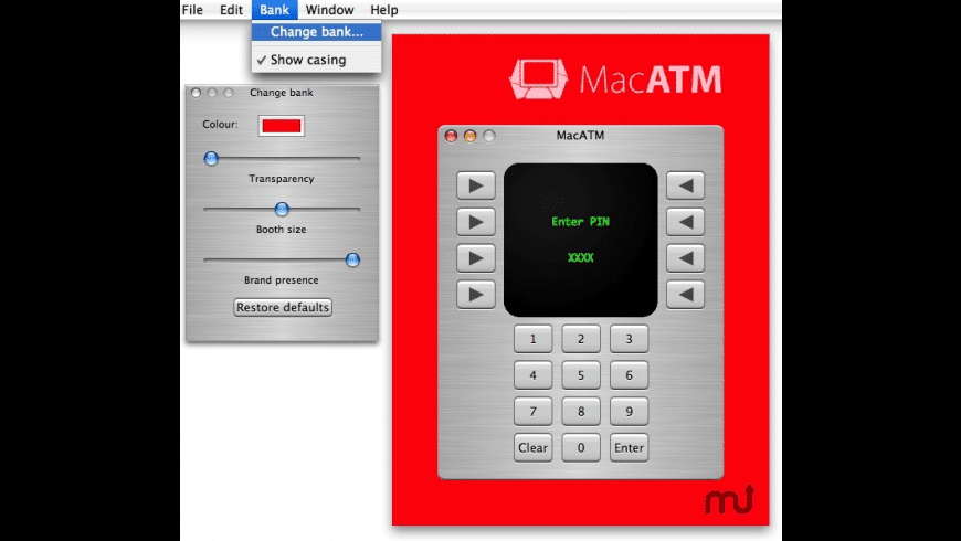 MacATM for Mac - review, screenshots