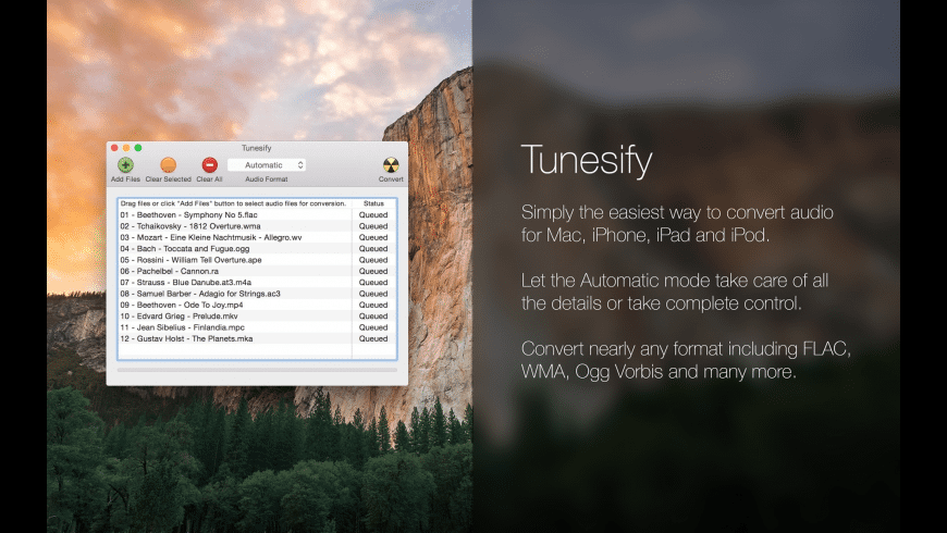 Tunesify for Mac - review, screenshots