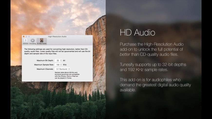 Tunesify for Mac - review, screenshots