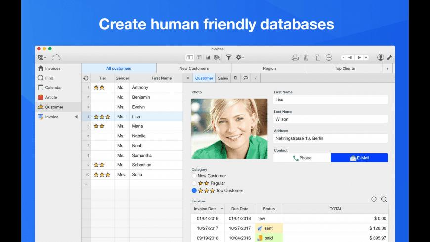 Ninox for Mac - review, screenshots