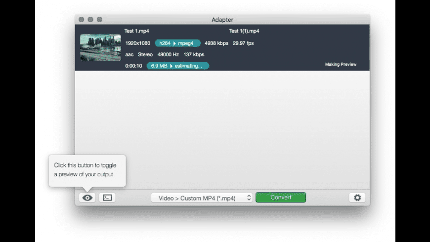 Adapter for Mac - review, screenshots
