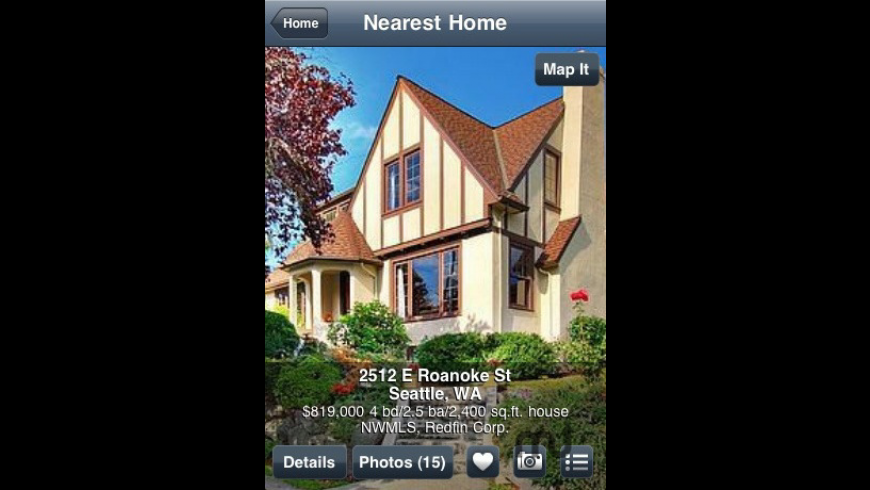 Redfin Real Estate for Mac - review, screenshots