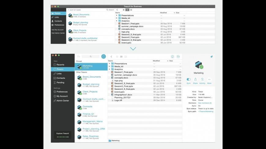 Tresorit for Mac - review, screenshots