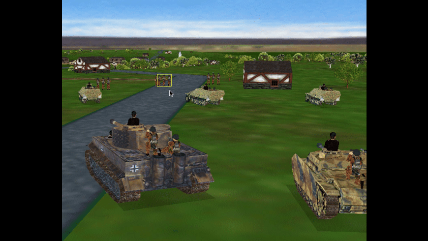Combat Mission Gold for Mac - review, screenshots