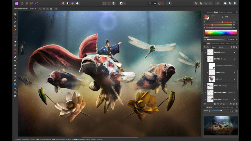 Affinity Photo for Mac - review, screenshots