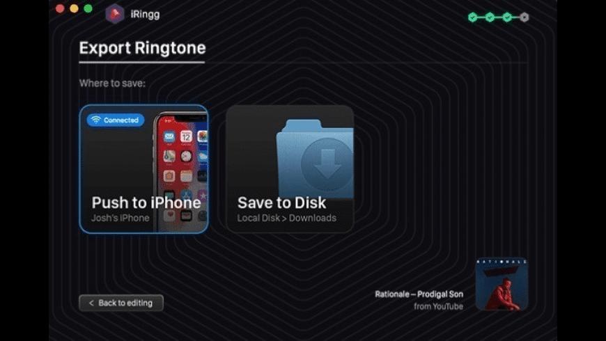 iRingg for Mac - review, screenshots