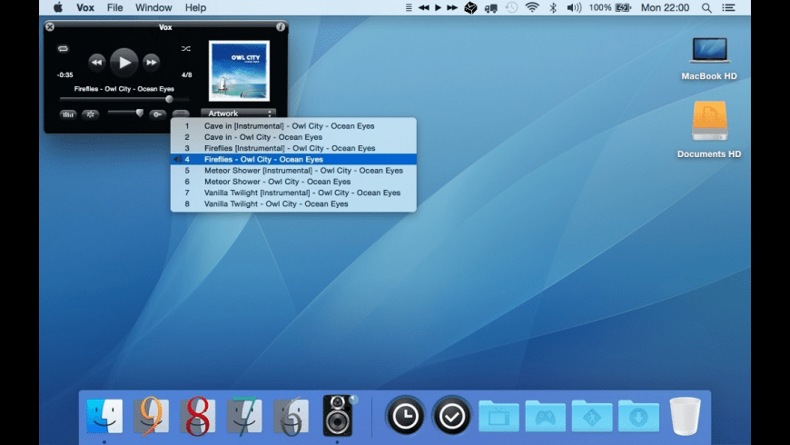 Vox (Legacy) for Mac - review, screenshots