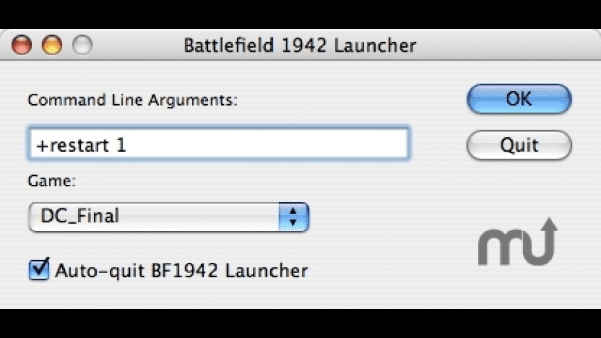 BF1942 Launcher for Mac - review, screenshots