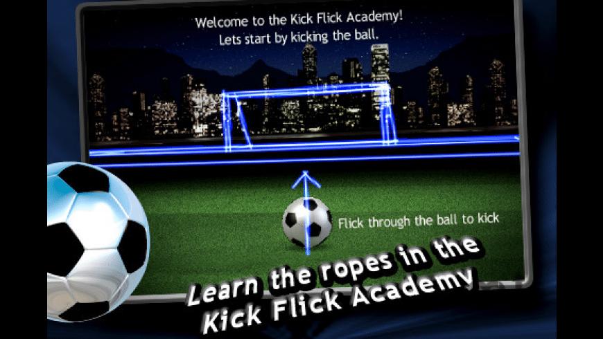 Kick Flick Soccer 2010 for Mac - review, screenshots