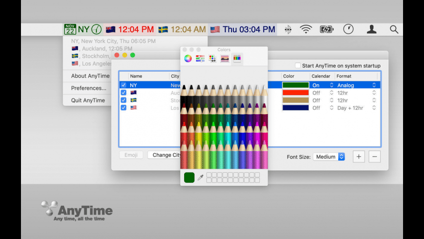 AnyTime for Mac - review, screenshots