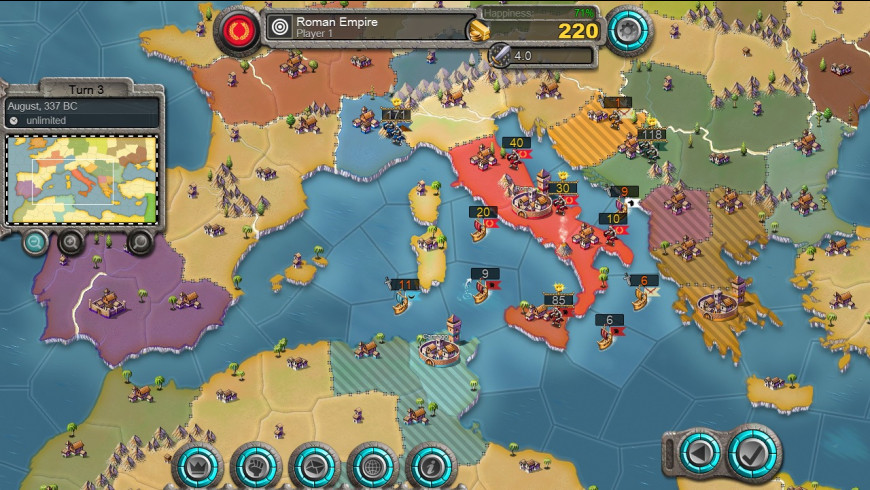 Age of Conquest IV for Mac - review, screenshots