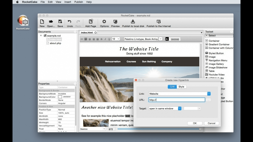 RocketCake for Mac - review, screenshots