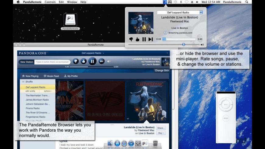 PandaRemote for Mac - review, screenshots