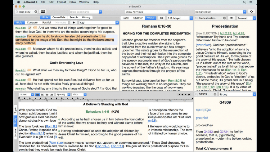 e-Sword X for Mac - review, screenshots